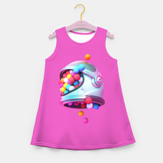 Colorful Balls Girl's summer dress thumbnail image