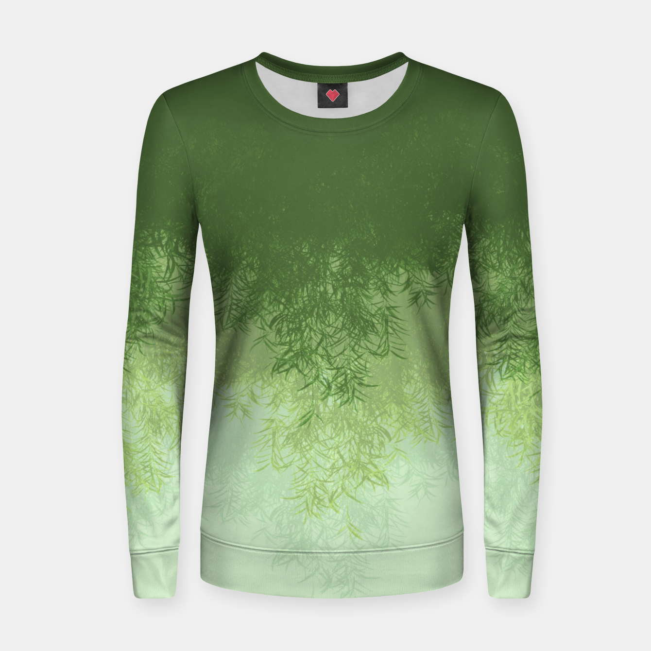 Image of Willow ( Green ) Women sweater - Live Heroes