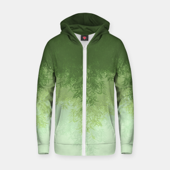 Willow ( Green ) Zip up hoodie thumbnail image