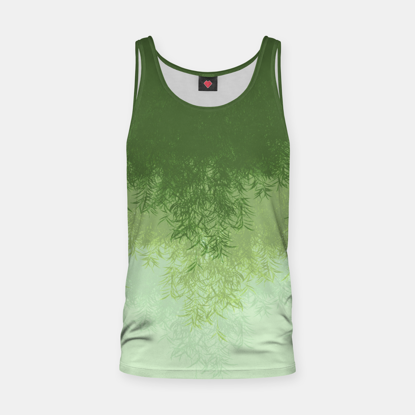 Image of Willow ( Green ) Tank Top - Live Heroes