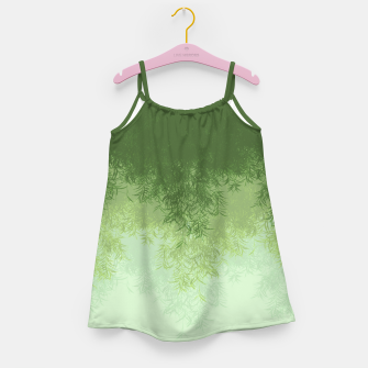 Willow ( Green ) Girl's dress thumbnail image