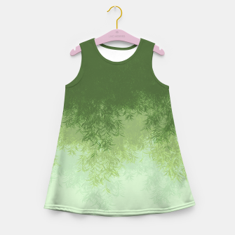 Willow ( Green ) Girl's summer dress thumbnail image