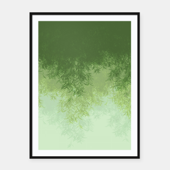 Willow ( Green ) Framed poster thumbnail image
