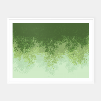 Thumbnail image of Willow ( Green ) Framed poster, Live Heroes