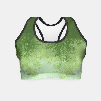 Willow ( Green ) Crop Top thumbnail image