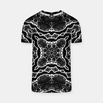 abstract jewel print T-shirt thumbnail image