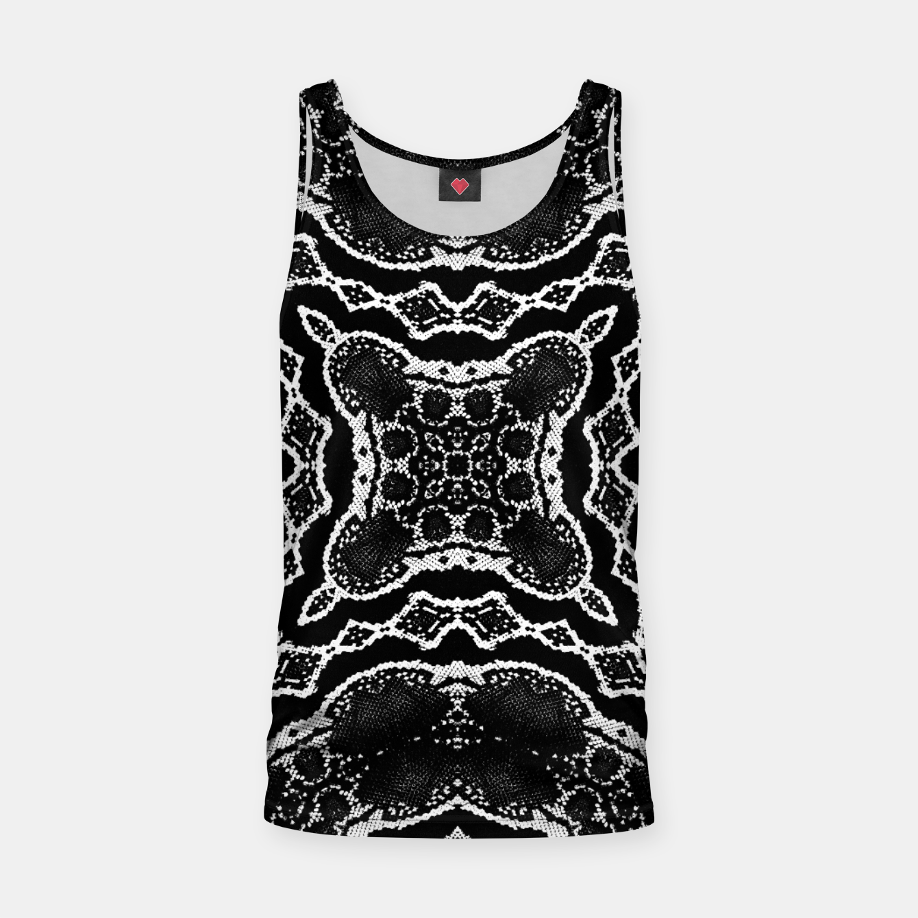 Image of abstract jewel print Tank Top - Live Heroes