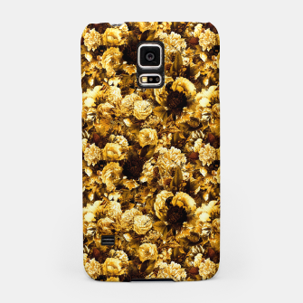 Thumbnail image of winter flowers seamless pattern 01 small warm yellow Samsung Case, Live Heroes