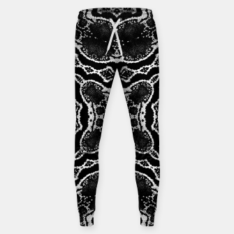 Thumbnail image of abstract jewel print Sweatpants, Live Heroes