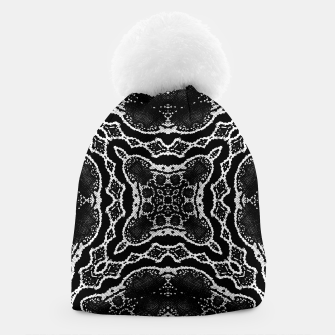 abstract jewel print Beanie thumbnail image