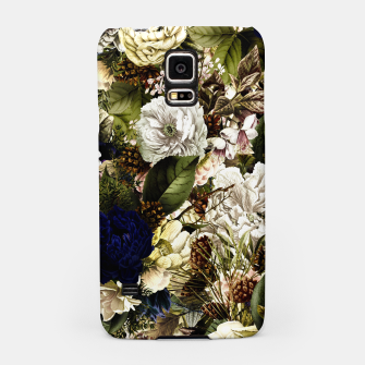 winter flowers seamless pattern 01 big Samsung Case thumbnail image