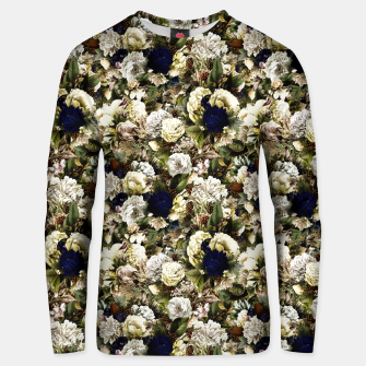 winter flowers seamless pattern 01 small Unisex sweater thumbnail image