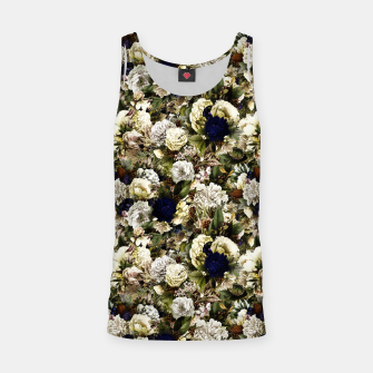 winter flowers seamless pattern 01 small Tank Top thumbnail image