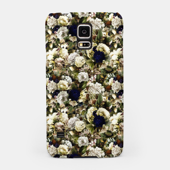 winter flowers seamless pattern 01 small Samsung Case thumbnail image