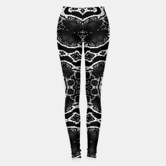 abstract jewel print Leggings thumbnail image