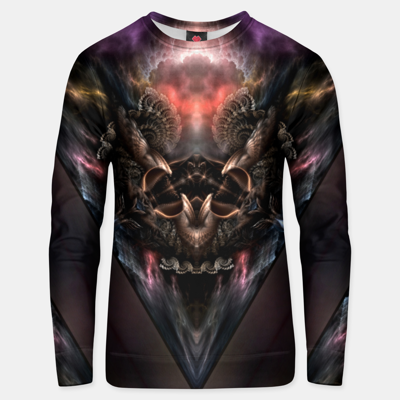 Image of Trilic-M6M2M1 Unisex sweater - Live Heroes