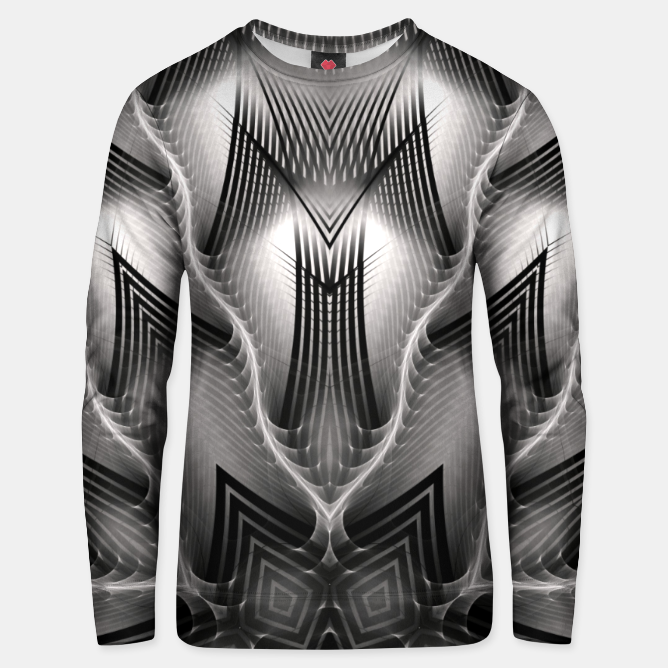 Image of CWM7-Pattern Unisex sweater - Live Heroes