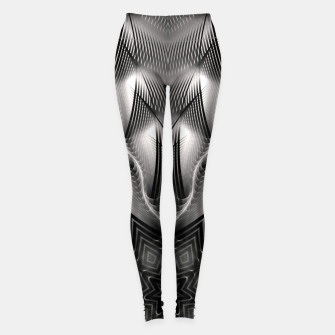 Thumbnail image of CWM7-Pattern Leggings, Live Heroes