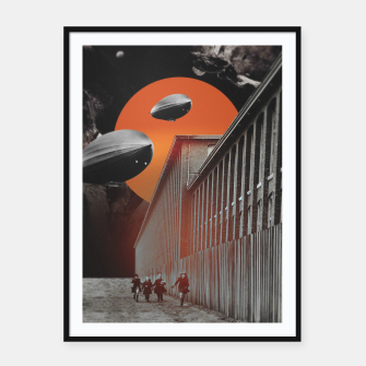 Thumbnail image of CCCP Framed poster, Live Heroes