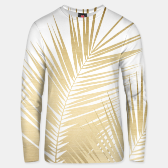 Thumbnail image of Gold Palm Leaves Dream - Cali Summer Vibes #1 #tropical #decor #art Unisex sweatshirt, Live Heroes