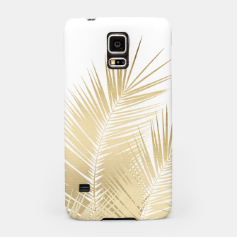 Thumbnail image of Gold Palm Leaves Dream - Cali Summer Vibes #1 #tropical #decor #art Handyhülle für Samsung, Live Heroes