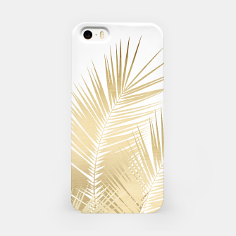 Thumbnail image of Gold Palm Leaves Dream - Cali Summer Vibes #1 #tropical #decor #art iPhone-Hülle, Live Heroes