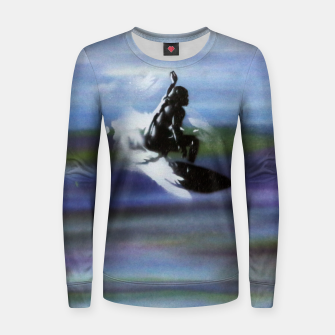 Thumbnail image of Midnight Surf Women sweater, Live Heroes