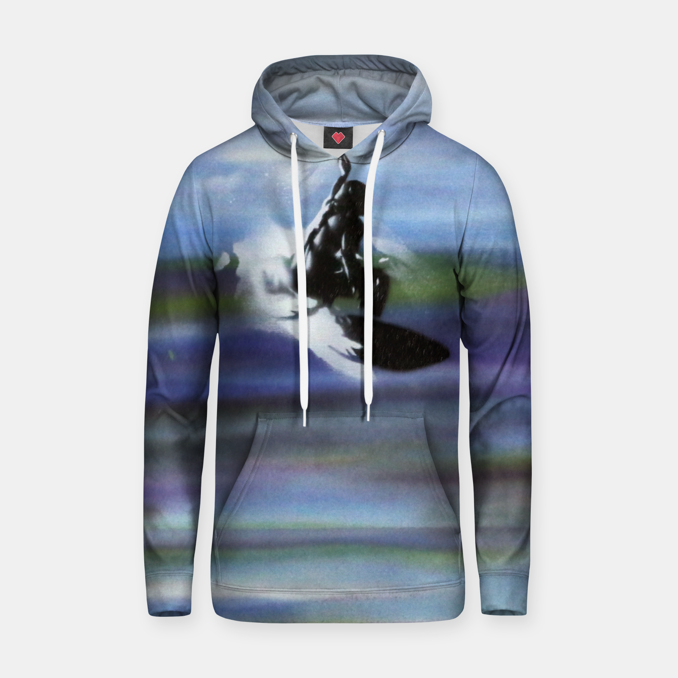 Image of Midnight Surf Hoodie - Live Heroes