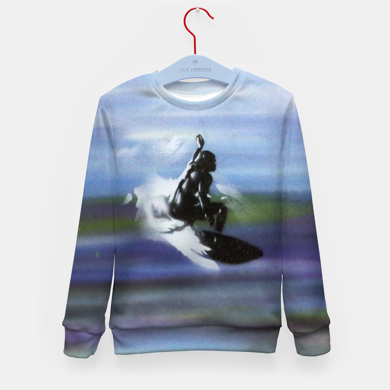 Image of Midnight Surf Kid's sweater - Live Heroes