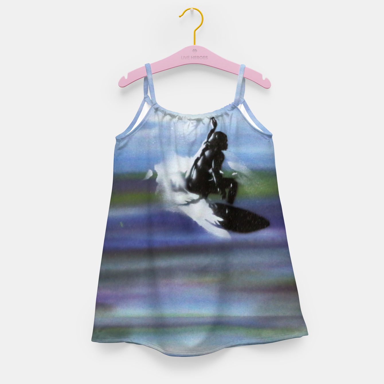 Image of Midnight Surf Girl's dress - Live Heroes