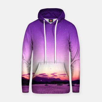 Sunset in Island Poros Greece Hoodie obraz miniatury