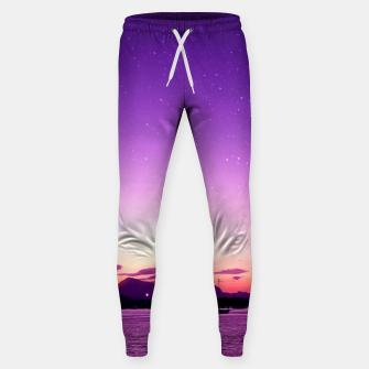 Sunset in Island Poros Greece Sweatpants thumbnail image