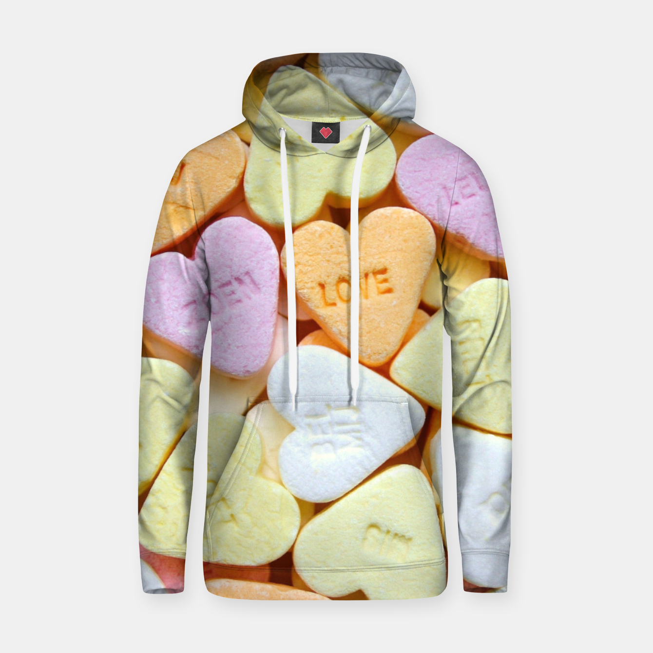 Image of Heart Candy Hoodie - Live Heroes