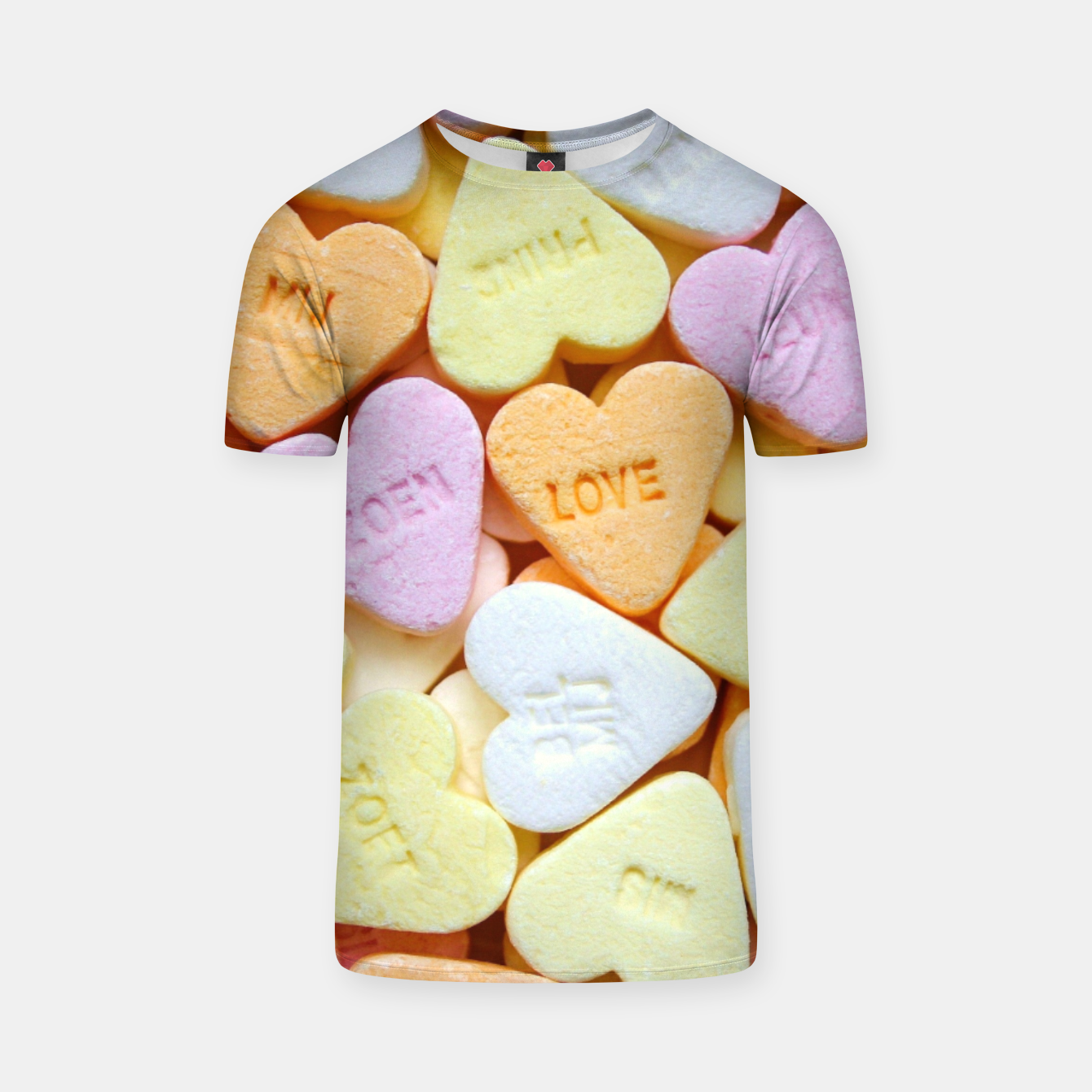 Image of Heart Candy T-shirt - Live Heroes