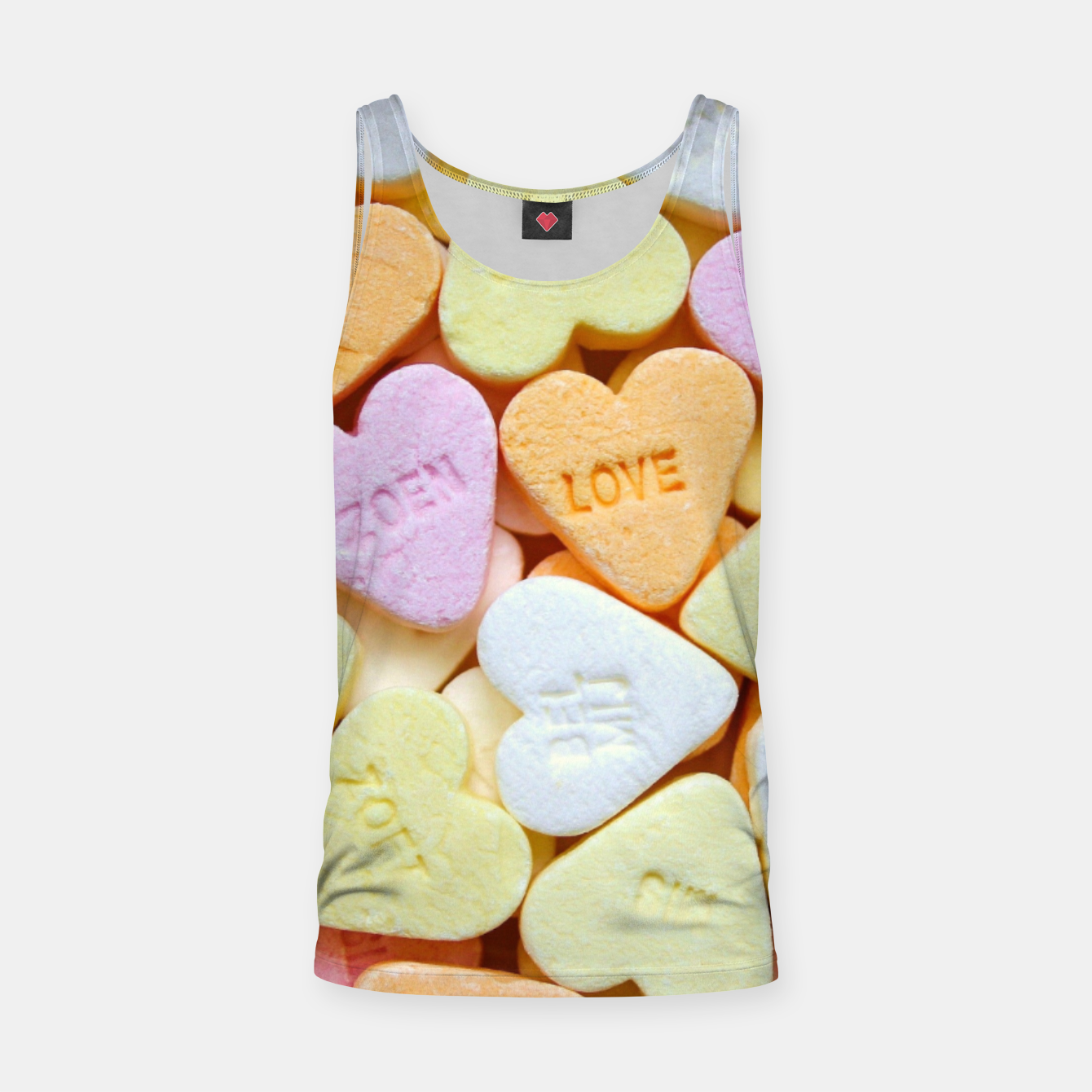 Image of Heart Candy Tank Top - Live Heroes