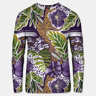 Nature jungle forms Sudadera unisex thumbnail image