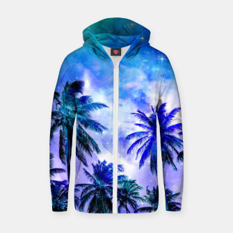 Thumbnail image of Island Nights Zip up hoodie, Live Heroes