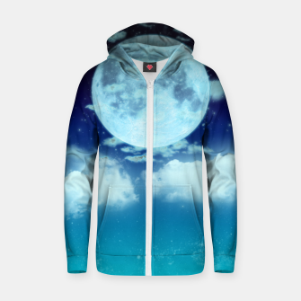 Thumbnail image of Dreamy Night Zip up hoodie, Live Heroes