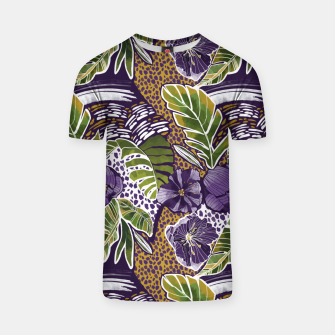 Nature jungle forms Camiseta thumbnail image