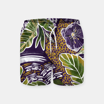 Nature jungle forms Pantalones de baño thumbnail image