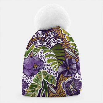 Nature jungle forms Gorro thumbnail image