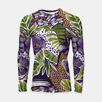 Nature jungle forms Longsleeve rashguard thumbnail image