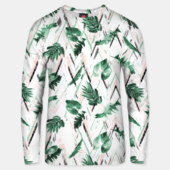 Abstract nature leaf Sudadera unisex Bild der Miniatur