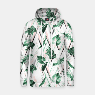 Abstract nature leaf Sudadera con capucha thumbnail image
