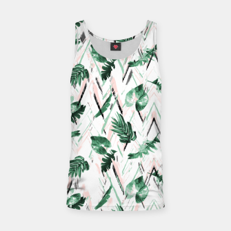 Abstract nature leaf Camiseta de tirantes Bild der Miniatur