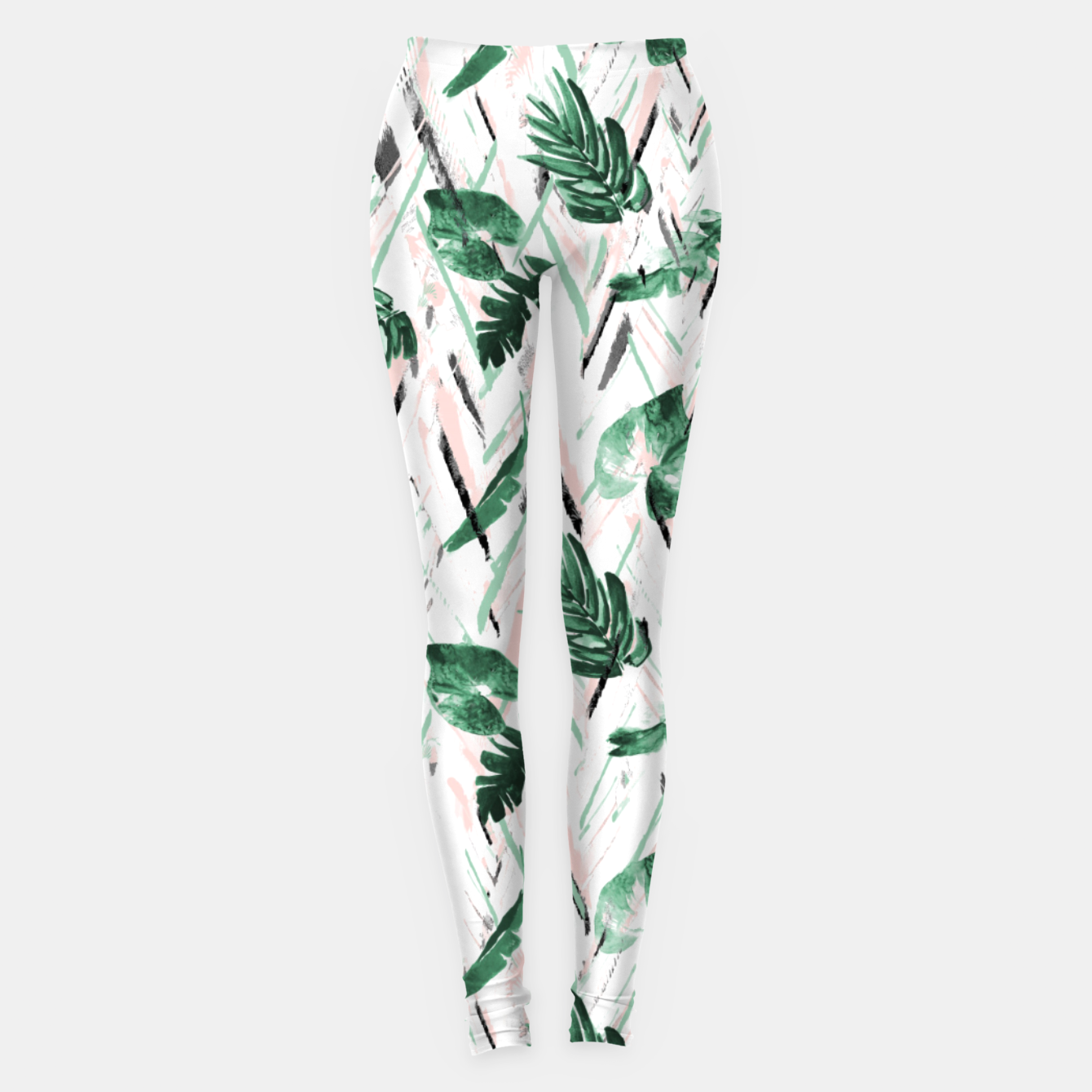 Foto Abstract nature leaf Leggings - Live Heroes