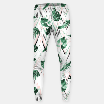 Thumbnail image of Abstract nature leaf Pantalones de chándal , Live Heroes
