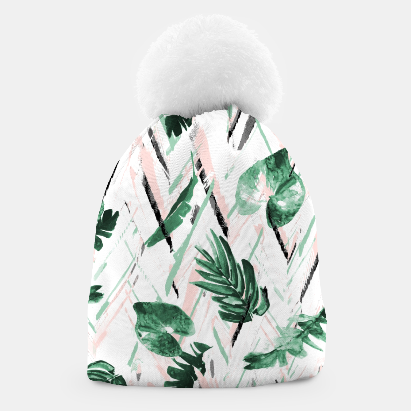 Foto Abstract nature leaf Gorro - Live Heroes
