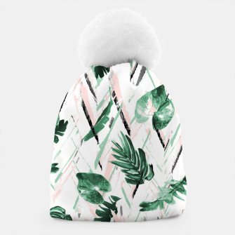 Miniaturka Abstract nature leaf Gorro, Live Heroes