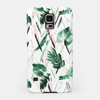 Thumbnail image of Abstract nature leaf Carcasa por Samsung, Live Heroes